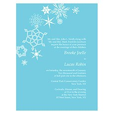 Winter Finery Invitation