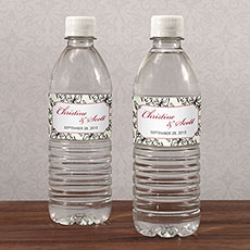 Eclectic Patterns Water Bottle Label