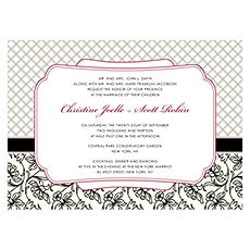 Eclectic Patterns Invitation