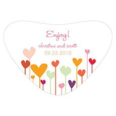 Hearts Heart Container Sticker