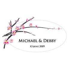 Cherry Blossom Large Cling