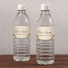 Love Bird Water Bottle Label