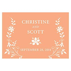 Forget Me Not Large Rectangular Tag