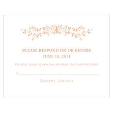 Forget Me Not RSVP