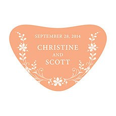 Forget Me Not Heart Container Sticker