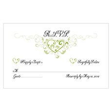 Heart Filigree RSVP