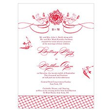 French Whimsy Invitation