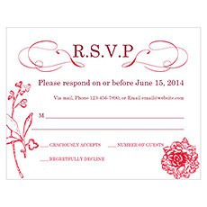 French Whimsy RSVP