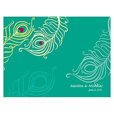 Perfect Peacock Note Card