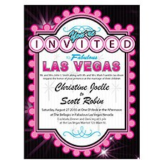 Las Vegas Invitation