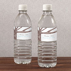 Heart Strings Water Bottle Label