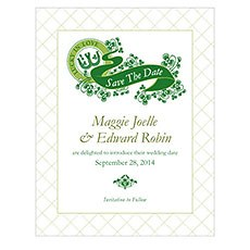 Luck Of The Irish Save The Date Card
