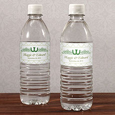 Luck Of The Irish Water Bottle Label