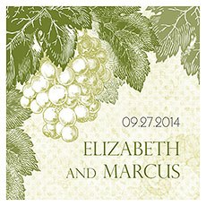 A Wine Romance Square Tag