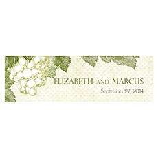 A Wine Romance Small Rectangular Tag