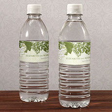 A Wine Romance Water Bottle Label