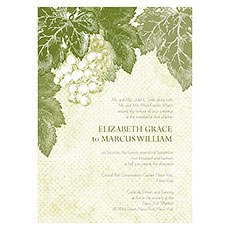 A Wine Romance Invitation