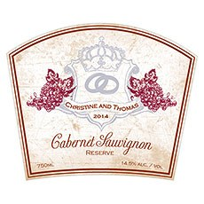 Aged Vineyard Rectangular Sticker