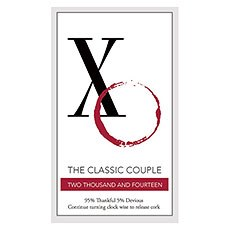 Classic Couple Rectangular Sticker