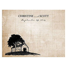 Rustic Country Note Card