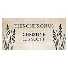 Rustic Country Small Ticket