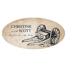 Rustic Country Large Cling
