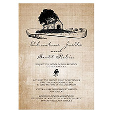 Rustic Country Invitation