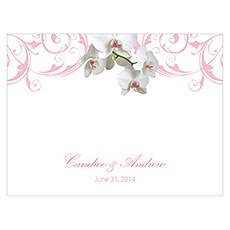 Classic Orchid Note Card