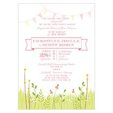 Homespun Charm Invitation