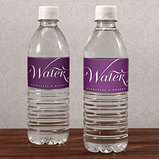 Expressions Water Bottle Label