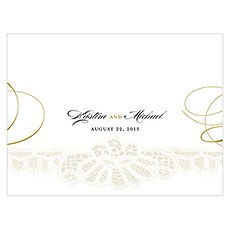 Vintage Lace Note Card