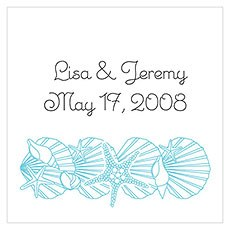 Simply Starfish Favor / Place Cards