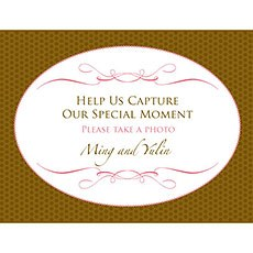 Wedding Memories Camera Table Sign