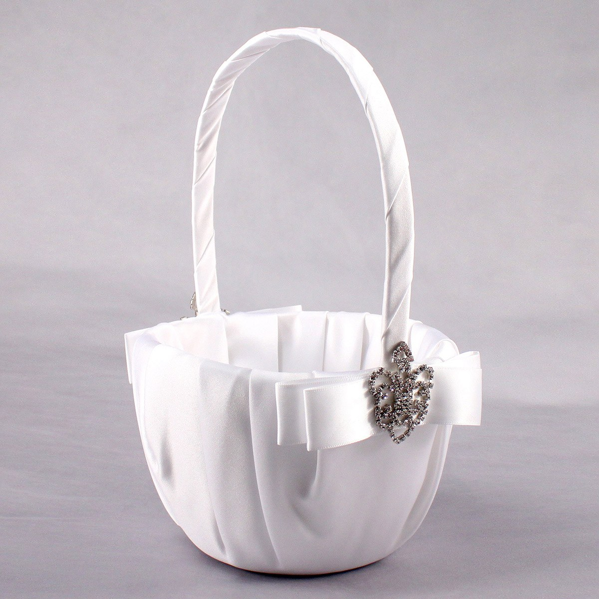 Beverly Clark The Crowned Jewel Collection Flower Girl Basket