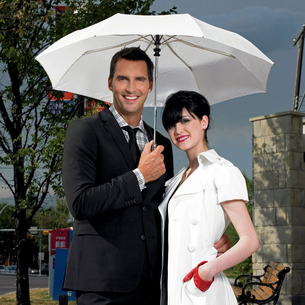 Just Married Wedding Ceremony Umbrella