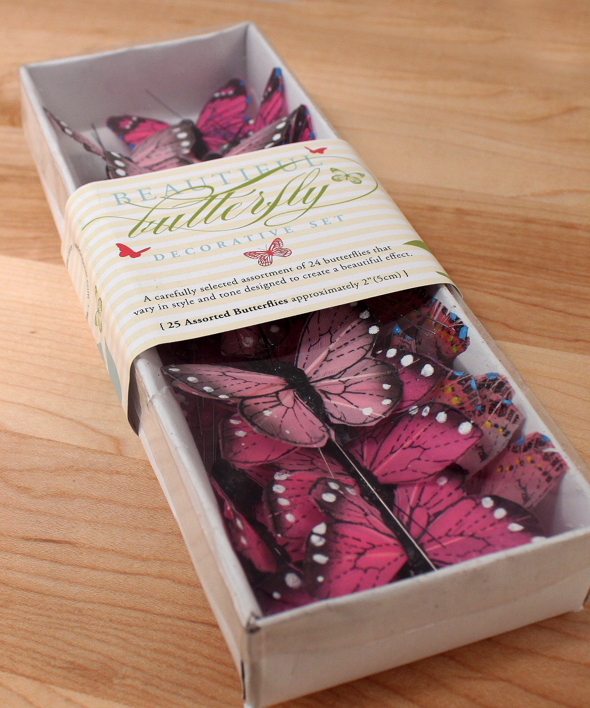 Beautiful Butterfly Cupcake Decorations