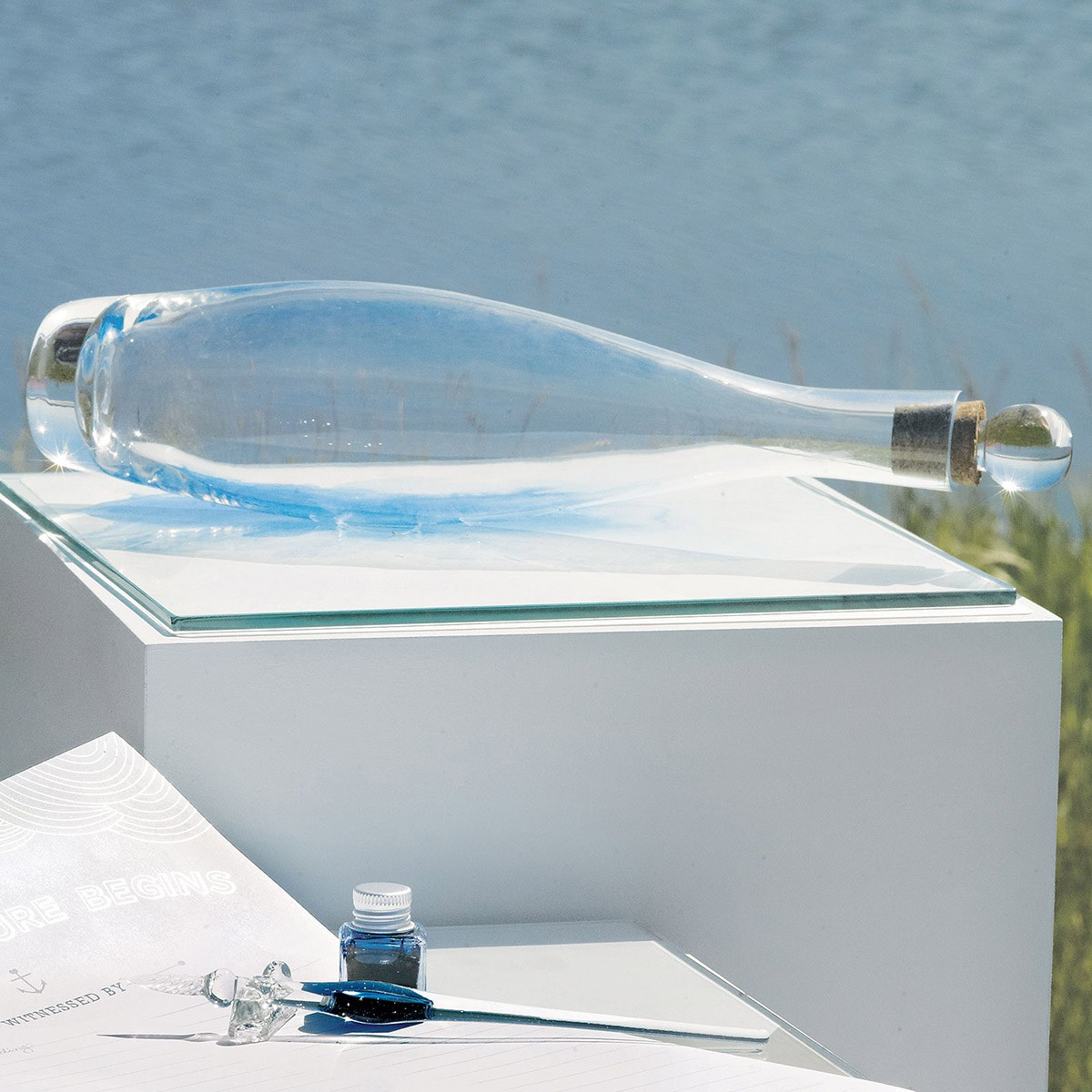 Message In A Bottle Time Capsule Guest Book